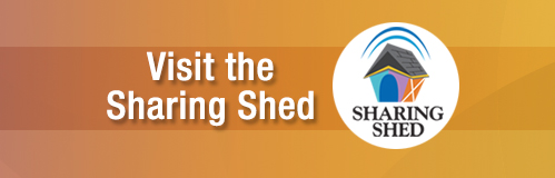 Visit the Sharing Shed