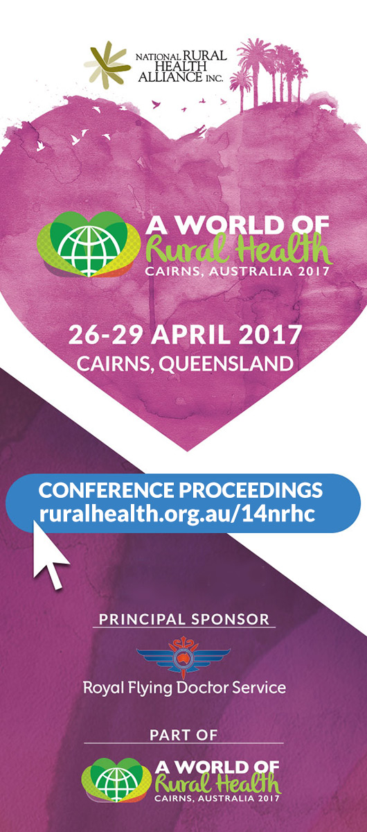 14th National Rural Health Conference Proceedings