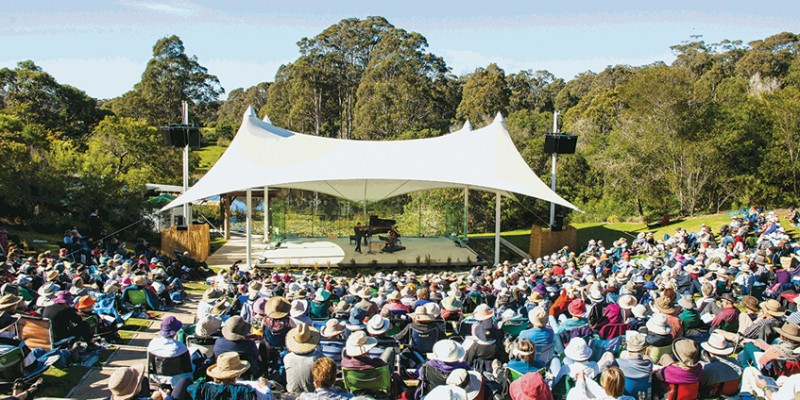Four Winds, Bermagui NSW outdoor concert arena