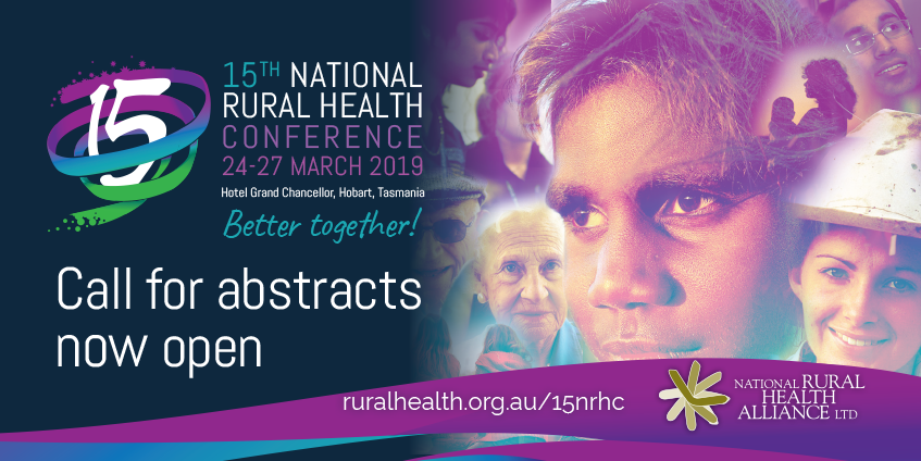 15th National Rural Health Conference call for abstracts