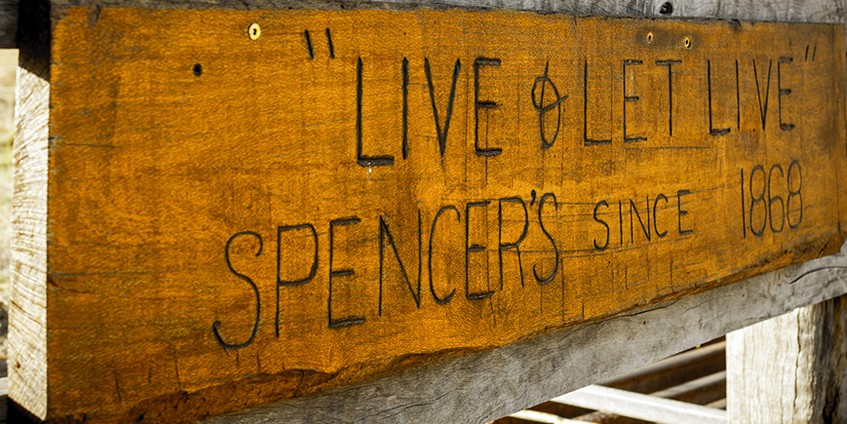 The Spencer's property Live & Let Live