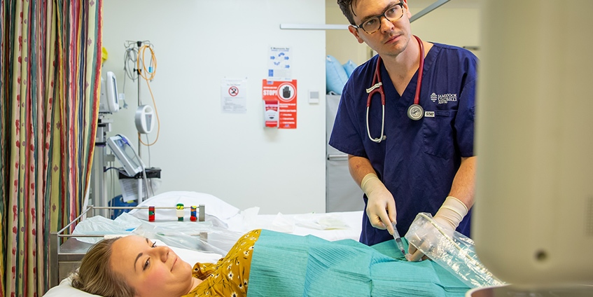 Training in smaller hospitals is friendly and provides a broad scope of practice