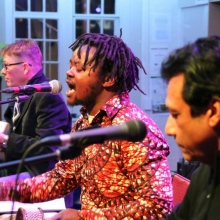 The Mambo Afro offers distinct multi-instrumental talents of a group that marries flamenco, samba, high life with the music of Malawi and South Africa.