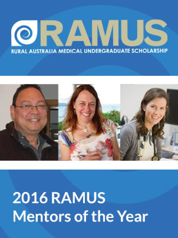 2016 RAMUS Mentors of the Year