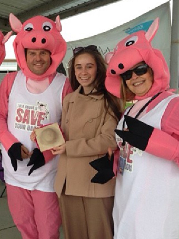 Save Your Bacon event