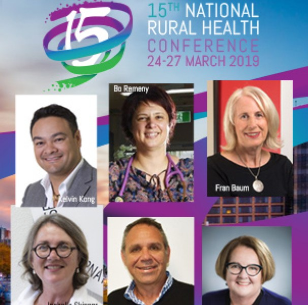 15th National Rural Health Conference speakers