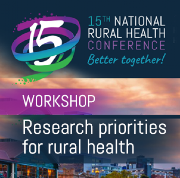 Research priorities for rural health