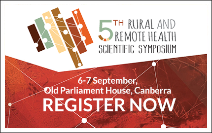 5th Rural & Remote Health Scientific Symposium