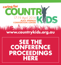 Caring for Country Kids Proceedings now available