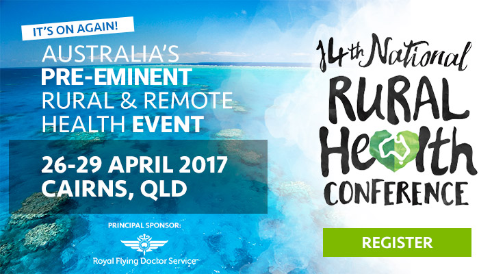 Register to attend the 14th National Rural Health Conference