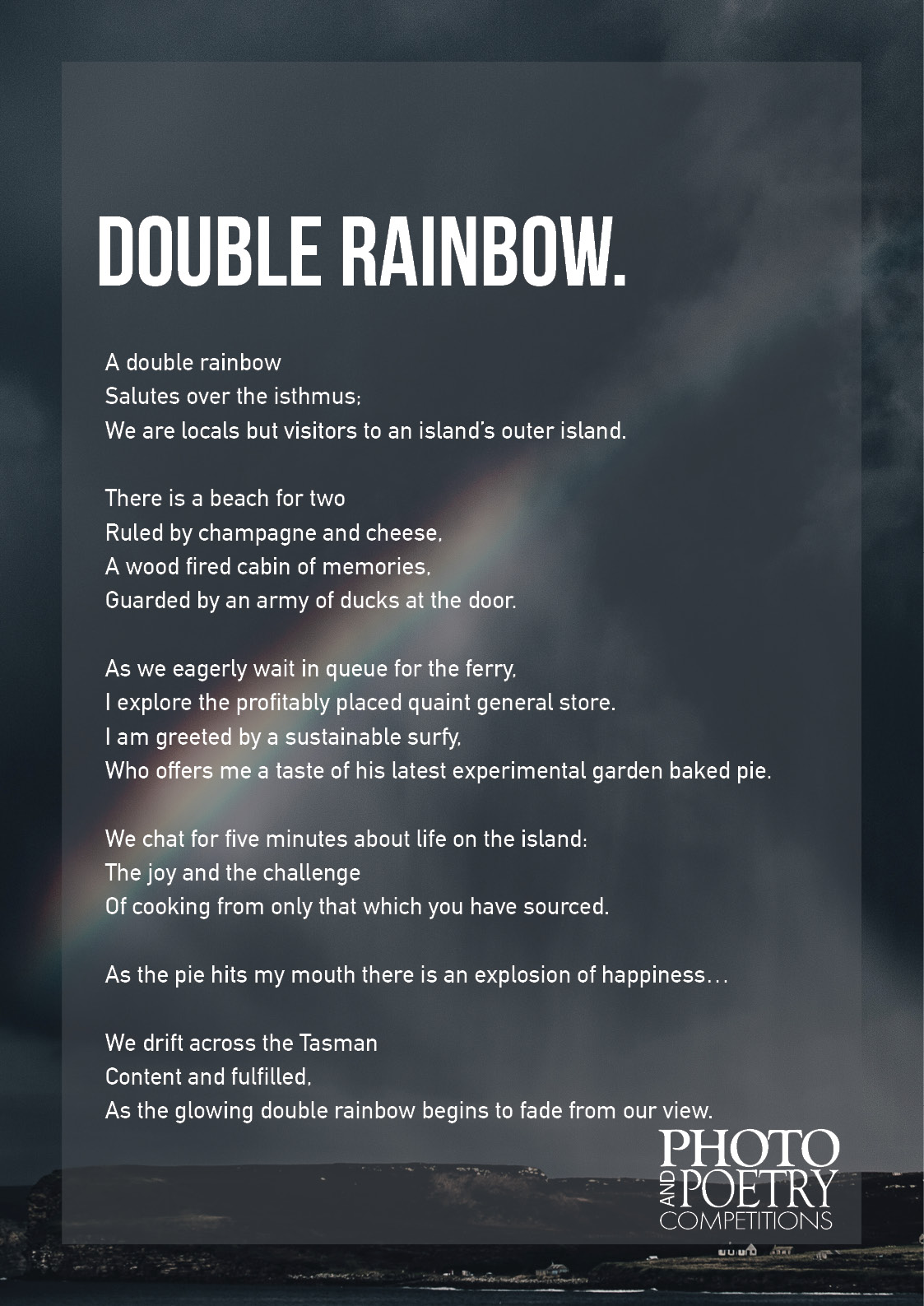 Tristan Kelly - Double Rainbow