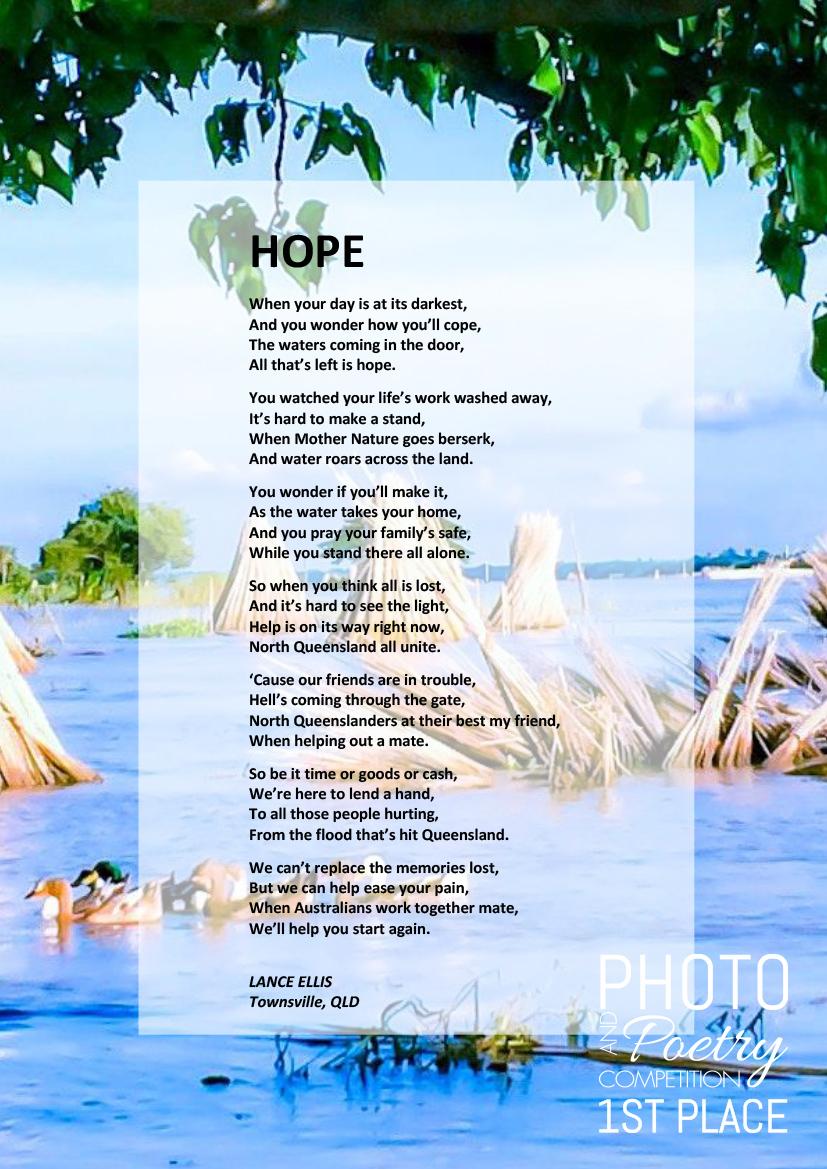 HOPE - LANCE ELLIS, Townsville, QLD