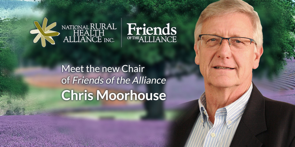 Friends new Chair Chris Moorhouse