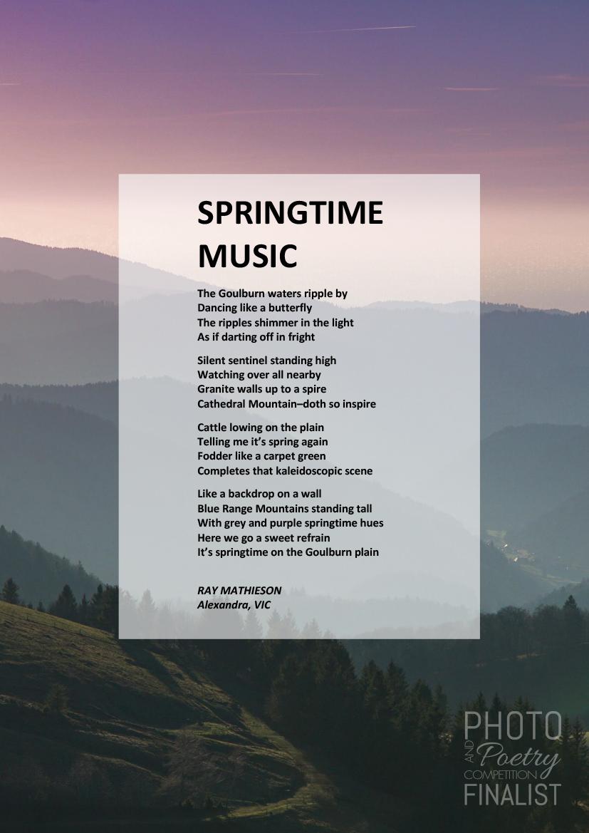 SPRINGTIME MUSIC - RAY MATHIESON, Alexandra, VIC