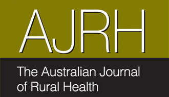 Australian Journal of Rural Health June 2016 Issue