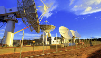NBN satellite ground station, Wolumla, NSW