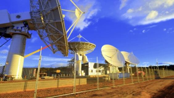 NBN satellite ground station, Wolumla, NSW