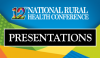 12th National Rural Health Conference Presentations