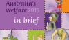 Australia's welfare 2015 Cover