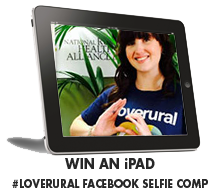 WIN AN iPAD #LOVERURAL FACEBOOK SELFIE COMPETITION