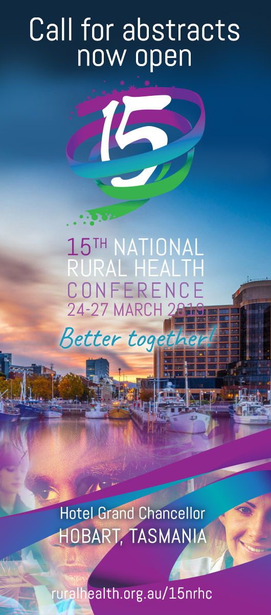 15th NRHC ad call for abstracts now open