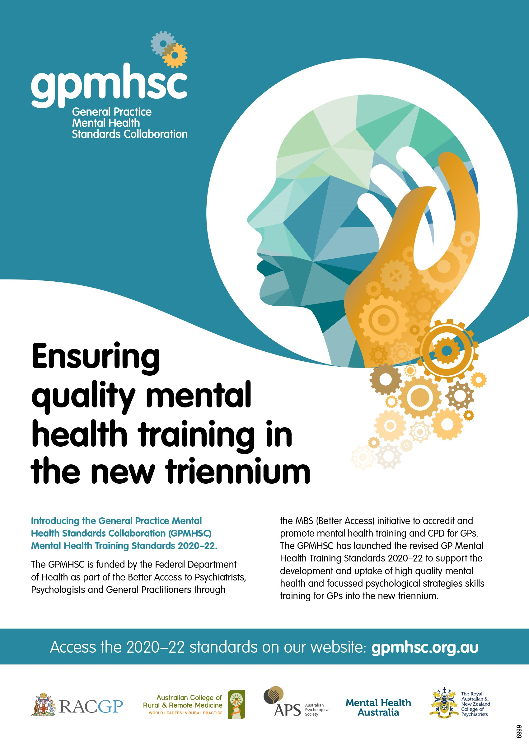 Ensuring quality mental health training in the new trennium GPMHSC