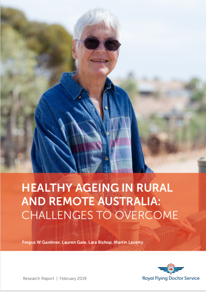 Report Cover Healthy Aging in Rural and Remote Australia