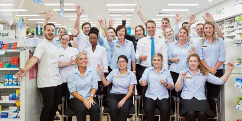 Southcity Pharmacy staff photo in phramacy