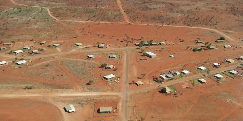 Lake Nash, one of the most remote communities in the NT