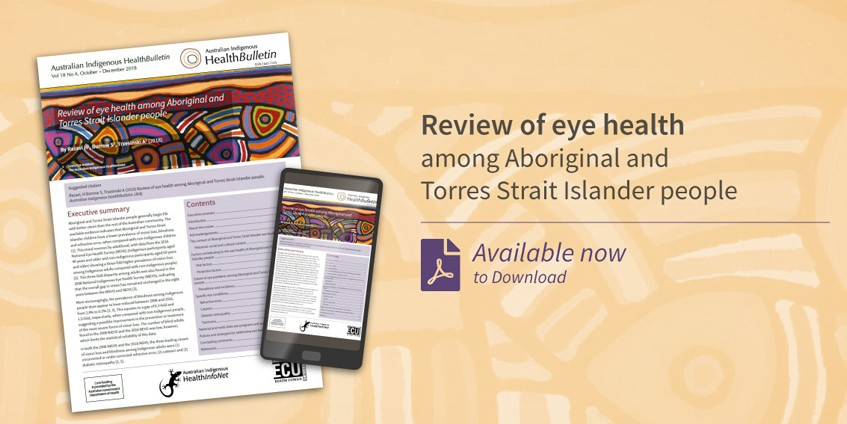 Eye health report cover