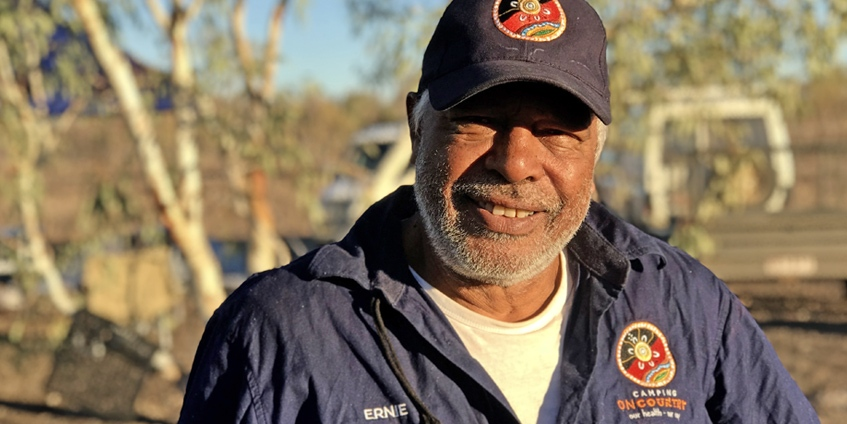 Ernie Dingo, Camping on Country Ambassador
