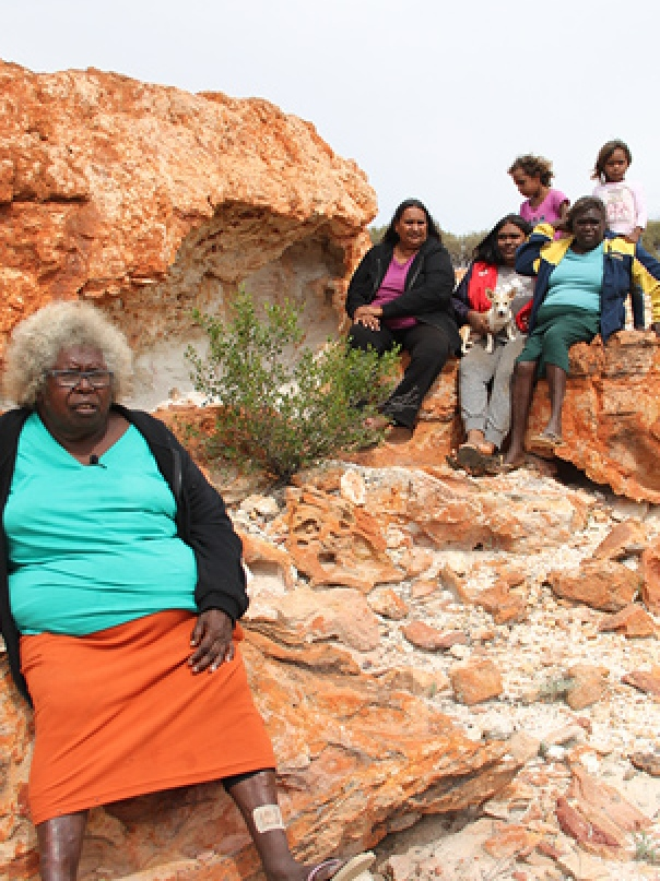 Lena Long of Wiluna, WA