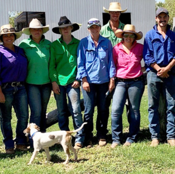supporting cattle station 2 OzHelp visit to Newry Station on West Australian border in the Northern Territory