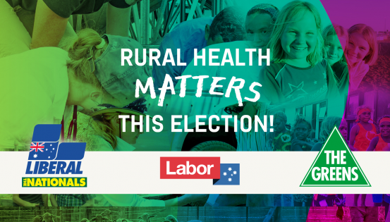 Rural Health Matters this Election