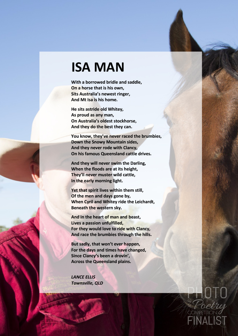 ISA MAN - LANCE ELLIS, Townsville, QLD