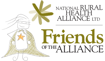 NRHA Friends of the Alliance with hero character
