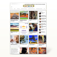Website view of thumbnails