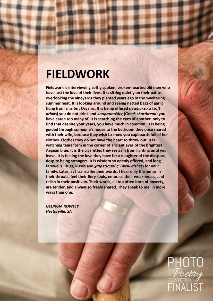 FIELDWORK - GEORGIA ROWLEY, Hectorville, SA
