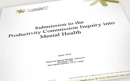 Productivity Commission Mental Health Inquiry